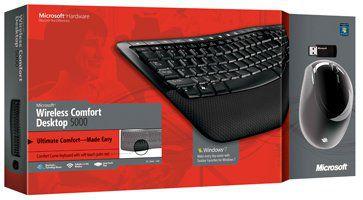 Kit Microsoft Teclado E Mouse Laser Wire W Confort Dk 5000