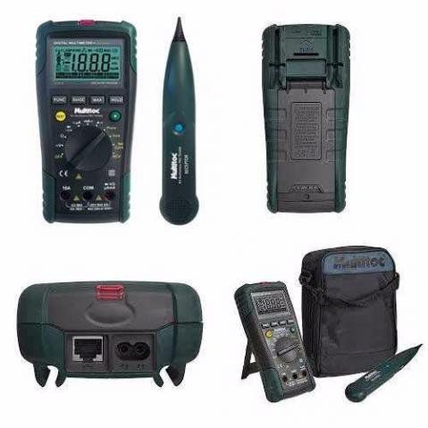 Kit Multimetro Pro Tx3000 Mutx3000