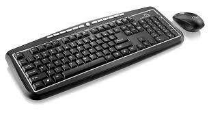 Kit Teclado+Mouse S/ Fio Multilaser Tc137 Multimidia Usb Preto 2.4ghz