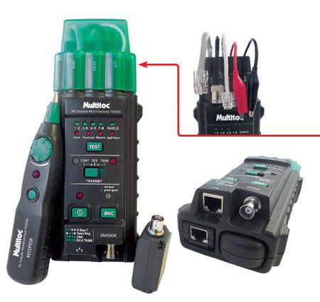 Kit Testador Multifuncional Tx2000 Mutx2000