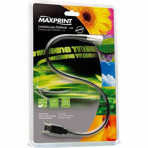 Lampada/Luminaria Usb 1 Led Flexivel P/Notebookref 603636