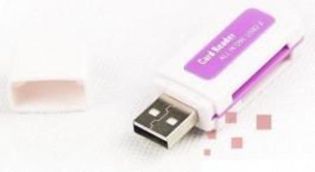 Leitor De Cartao De Memoria Externo Usb All In 1 - Cristal Lc100