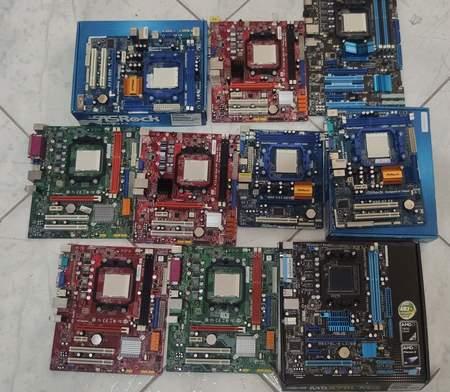 Lote 10 Placa Mãe Socket Amd Am3 com Defeito