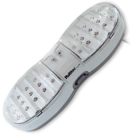 Luminaria De Emergencia Recarregavel - Led - 30 Horas Plus Itlz0001