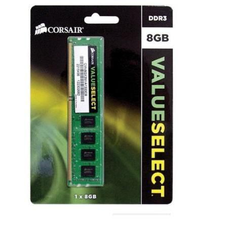 Memoria Ddr3 8192mb 1333 Valueselect Corsair Blister