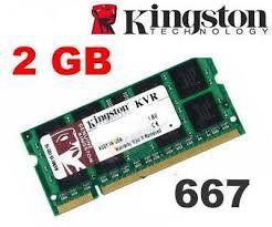 Memoria Notebook Ddr2 2048mb 667 Kingston