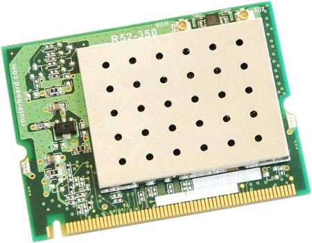 Mikrotik- Mini Pci Card R52-350 A/B/G 350mw Ufl