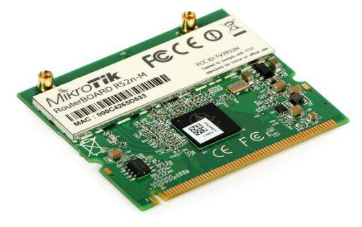Mikrotik- Mini Pci Card R52n-M 802.11a/B/G/N
