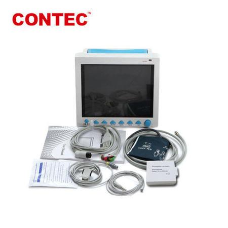 Monitor Portatil Sinais Vitais CMS8000 Ecg Nibp Spo2 Contec