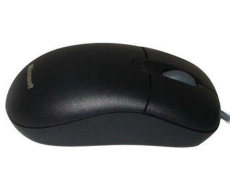 Mouse Microsoft Usb 3 Botoes Scroll Optico Black P58-00061