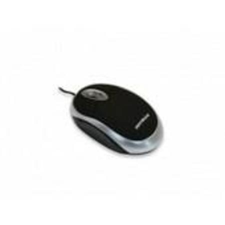 Mouse Optico Ps2 Preto/Prata Ref. 60 5275