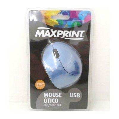 Mouse Optico Usb Azul Ref. 60 7134
