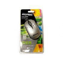 Mouse Optico Usb Preto/Prata Ref. 60 5280