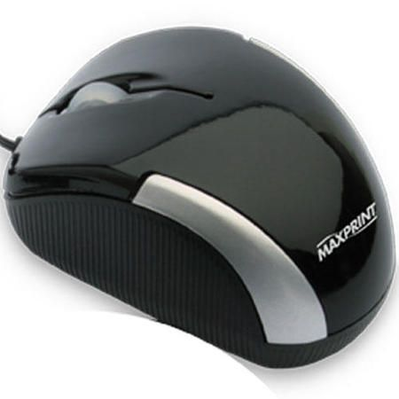 Mouse Optico Usb Preto (Retratil) Ref. 60 6047