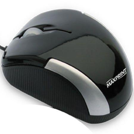 Mouse Optico Usb Preto (Retratil) Ref. 60 6047