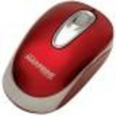 Mouse Optico Usb Preto/Verm. Ref. 60 7665