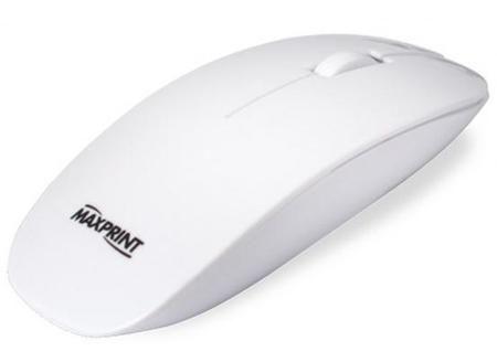 Mouse Optico Usb Slim Branco Ref. 60 5734