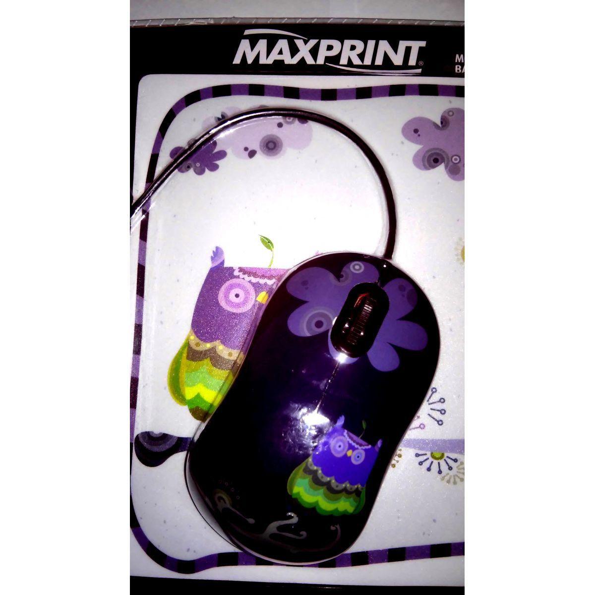 Mouse Otico Usb C/Base P/Mouse Maxprint Ref 60 9156