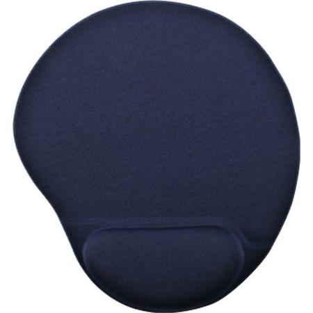 Mouse Pad C/ Apoio Oval Preto
