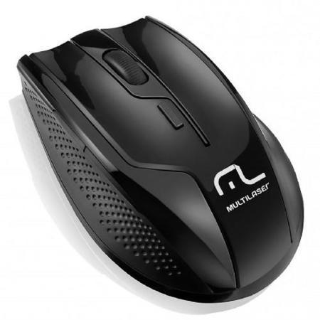 Mouse S/Fio 2.4ghz Rapid 6 Bot 1600dpi Black Piano Mo165