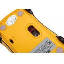 Mouse Usb Feasso Optico Carrinho Amarelo Famo-12 (Mod. Novo)