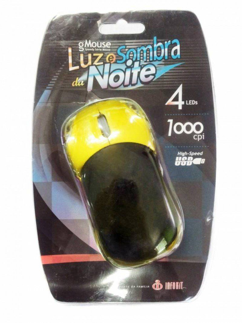 Mouse Usb Infokit Optico Carrinho Ferrari- Div. Cores - Gm S100