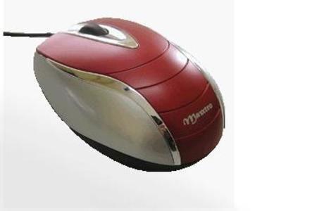 Mouse Usb Maxxtro Laser Aquarius Traveler 6000 Red