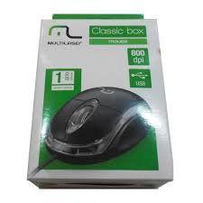 Mouse Usb Mo179 Classic Optico Black