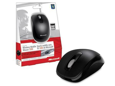 Mouse Wireless Microsoft 1000 Mobile *