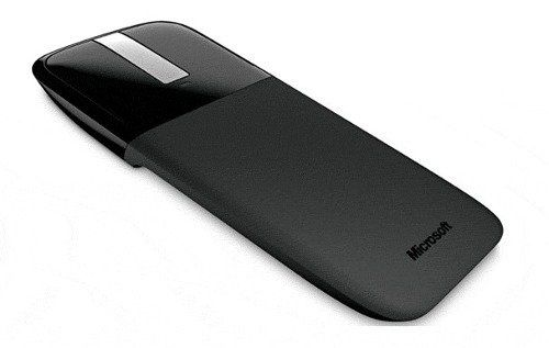 Mouse Wireless Microsoft Arc Touch Rvf-000052 Preto