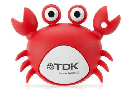 Pendrive 4gb Tdk Bichinho Model Caranguejo (Crab)