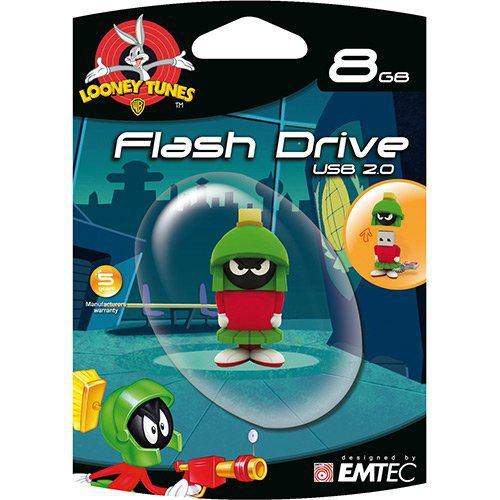 Pendrive L. Tunes Marvin 8gb Emtec