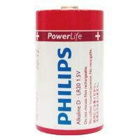 Pilhas Alkalinas Philips Lr20p2b/97 Tipo D