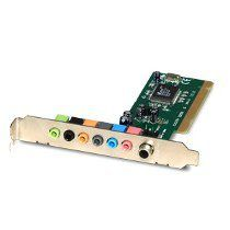 Placa De Som Pci Encore 7.1 Enm232-8vias Vt1723 *Box*