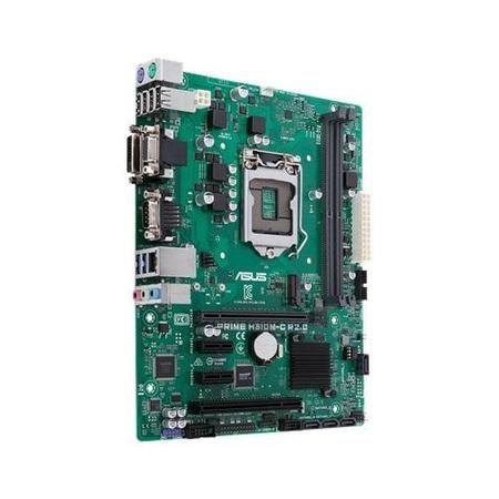 Placa Mae 1151 Prime H310M-C R2.0 Ddr4 Vga/Dvi/Serial/Usb 3.0 e 2.0