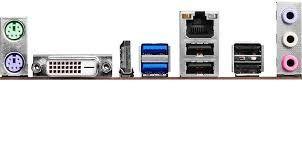 Placa Mae Intel 1151 B150m-Hds Ddr4/Hdmi/Dvi