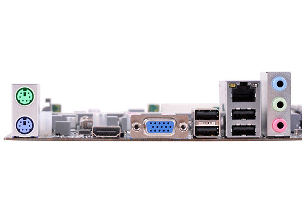 Placa Mae Intel 1155 H61h2-M2 Vga/Hdmi/Gigalan/Som/P2/Usb/Ddr3 Semi Nova Ecs
