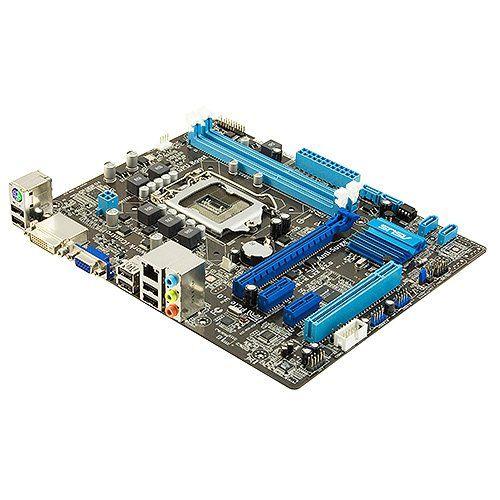 Placa Mae Intel 1155p Asus P8h61-M Lx2 R2.0 6usb Som/Gblan/Sata/Vga/Ddr3/Dvi/1pci