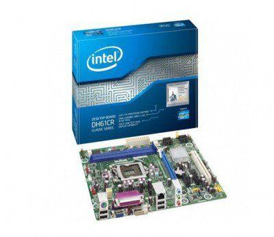 Placa Mae Intel 1155p Intel Dh61crbr Ddr3 Paralela/1 Pci /I3/I5/I7 *' Intel