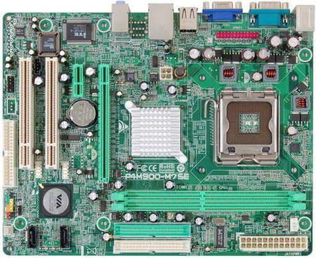 Placa Mae Intel 775p Biostar P4m900-M7 Se Sata S/V/R/2ide/2sata/ Ddr2