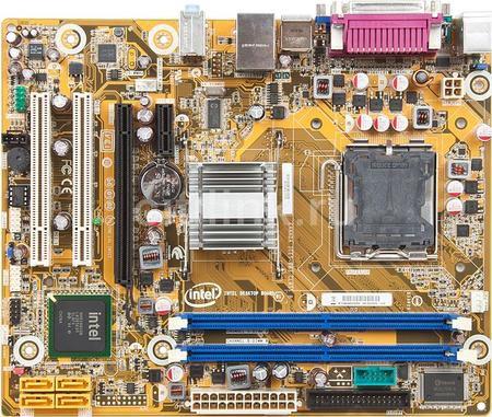 Placa Mae Intel 775P Intel Dg41Cn Som/Video/Rede/Ddr3 *Box*