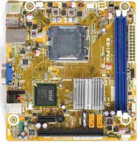 Placa Mae Intel 775p Pcware Ipx41-D3 S/V/R Ddr3 *Oem*