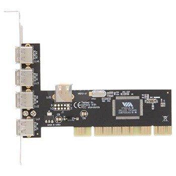 Placa Pci Usb 2.0 Com 4+1 Conectores Usb 2.0 Enlusb2-5pci-Br *. Encore
