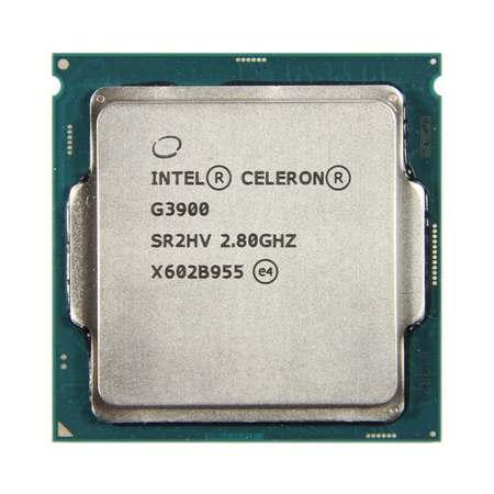 Processador Intel 1151p Celeron G3900 2.8ghz 2mb OEM