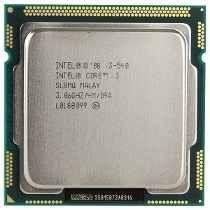 Processador Intel 1156p Core I3 540 3.06ghz 4mb *Box*