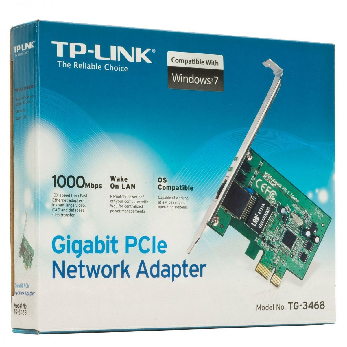 Rede Pci Exp. 10/100/1000 Tp-Link Tg-3468