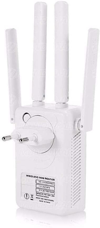 Repetidor Wireless Externas 300Mbps Wi-Fi AP de Parede Pix-Link LV-WR09