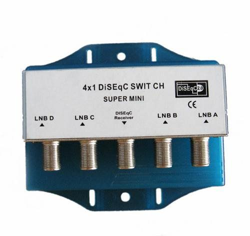 Switch Diseqc 4x1 P/ Cabo De Tv Fsds-02