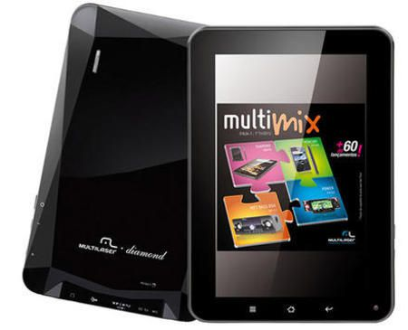 Tablet Multilaser Nb005 Tela 7'' Diamond Wi-Fi Preto