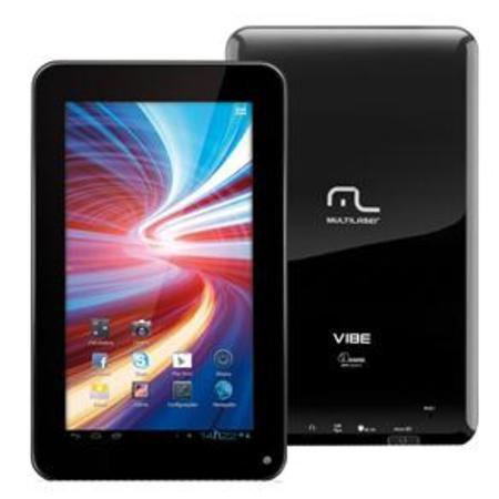 Tablet Multilaser Nb026 Tela 7'' Vibe Wi-Fi Preto